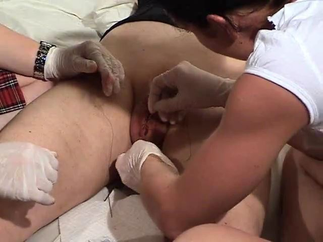 Suturing her Testicles into a Pussy - MISTRESS TRISH - SD/480p/MP4