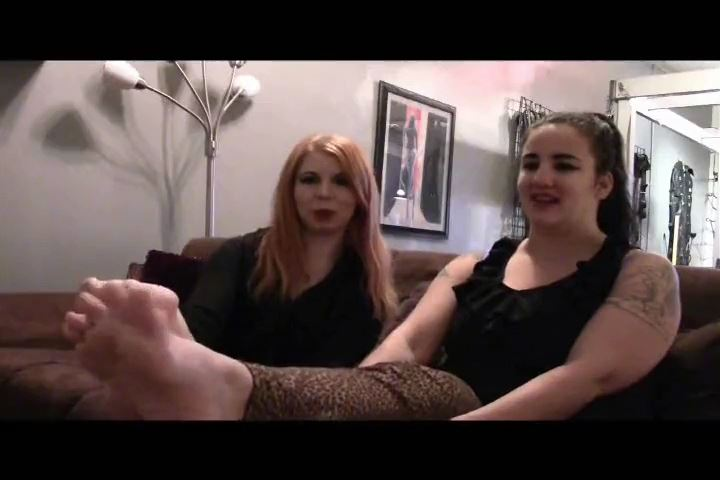 Mistress Xena In Scene: Two Pairs Of Delicious Feet - BIZARRE CINEMA - SD/480p/MP4