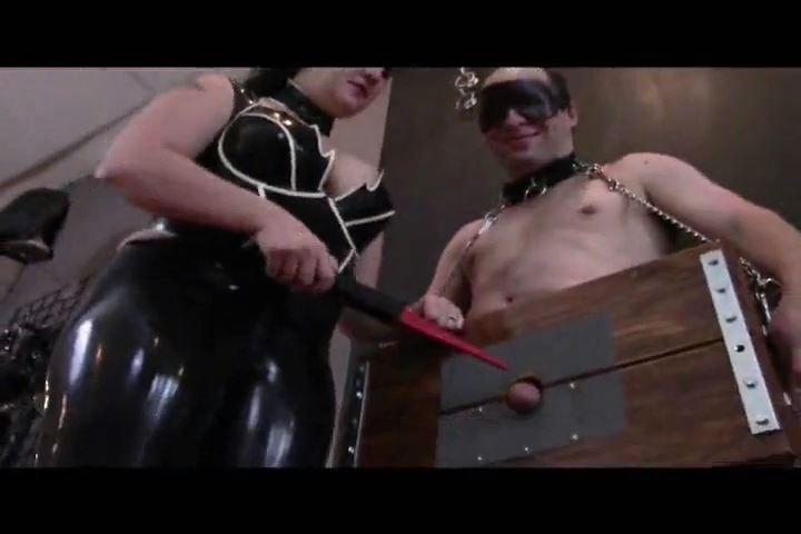 Mistress Xena In Scene: Cock In The Box - BIZARRE CINEMA - SD/480p/MP4