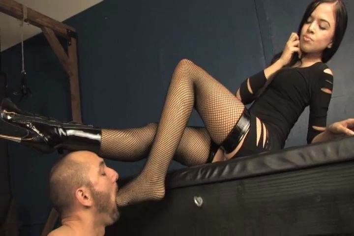 Miss Tiffany In Scene: Ankle boots with a killer heel - MISS-TIFFANY - SD/480p/MP4