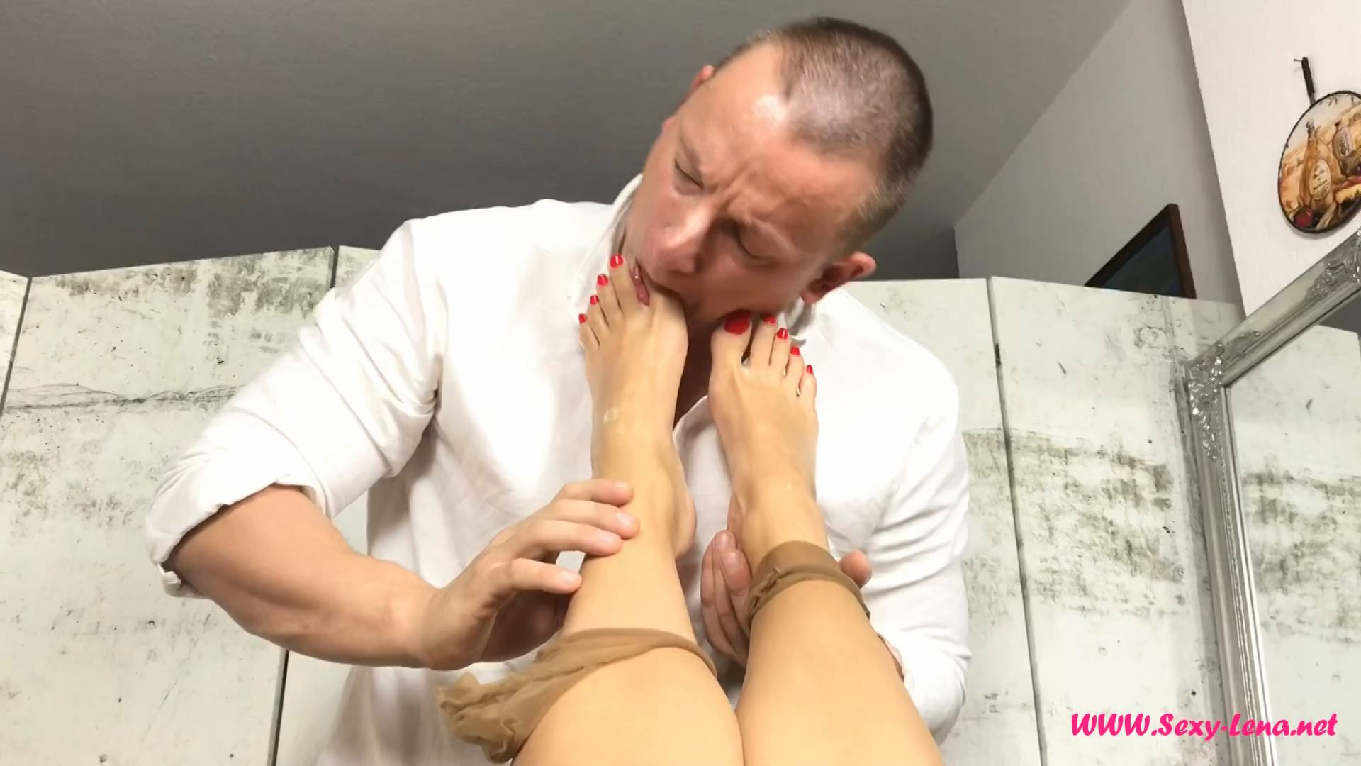 Fetish Model Lena In Scene: This Shoes and Feet are Delicious - SEXY LENA VIP - FULL HD/1080p/MP4