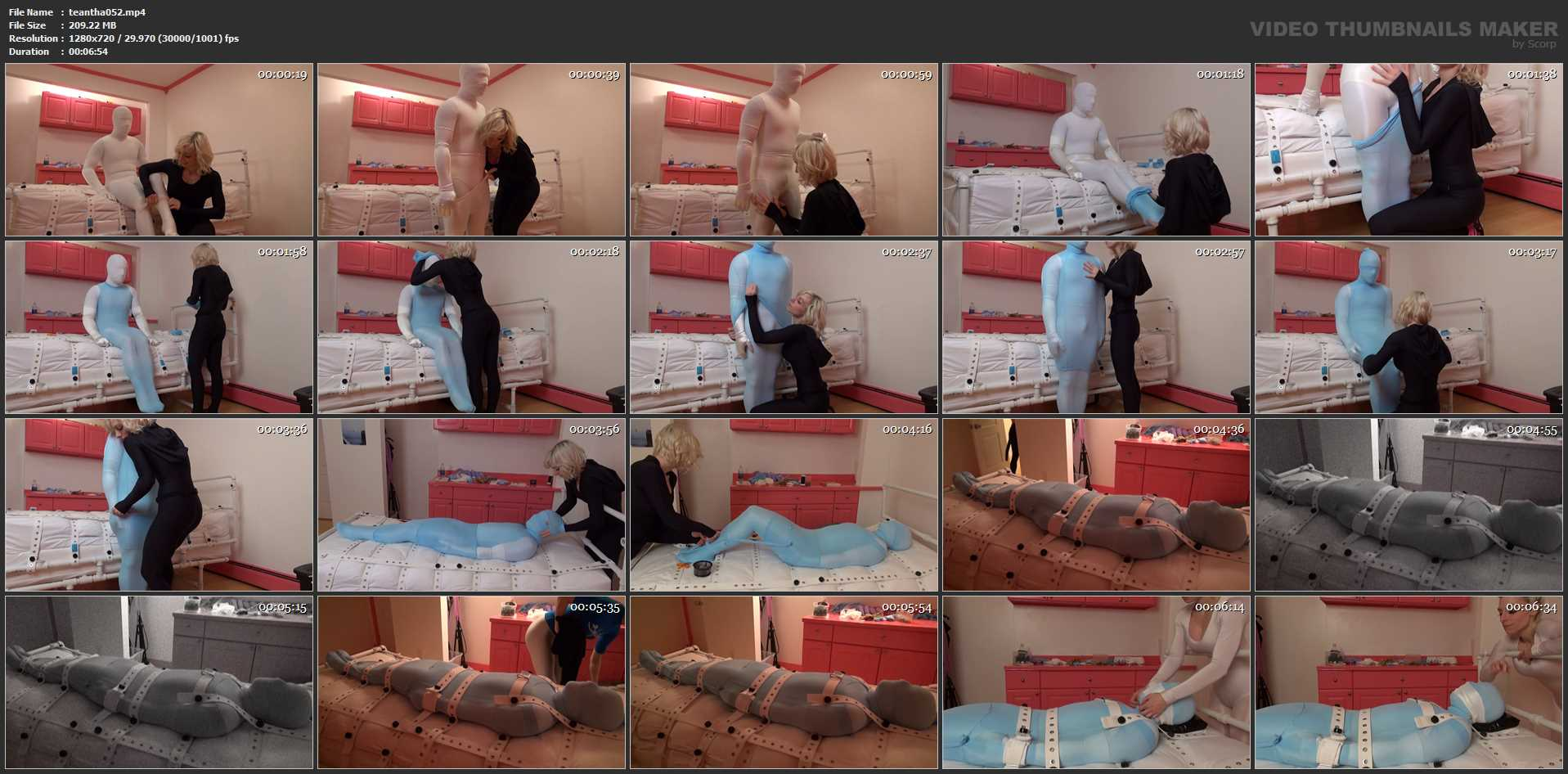 Christina QCCP In Scene: Encasement Addict Test, I could squeeze him - TEASEANDTHANKYOU - HD/720p/MP4
