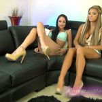 Goddess Suvana, Goddess Raven In Scene: TURNED INTO SHOES – THE MEAN GIRLS POV – SD/404p/MP4