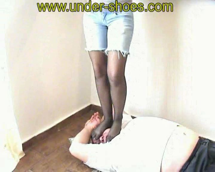 Katarina Tights Face - UNDER-SHOES - SD/576p/MP4