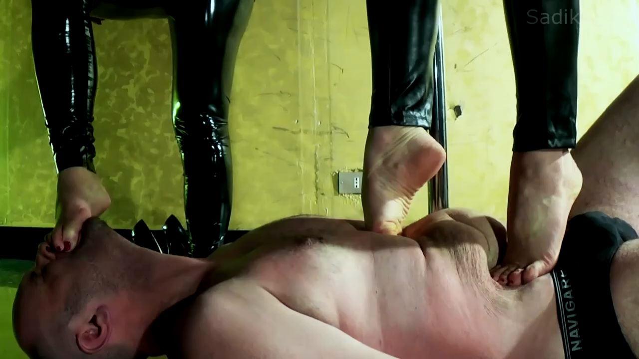 Jennyfer Cruel In Scene: Full Day 1 Trampling - WOMEN WEIGHT / SADIKA - HD/720p/MP4