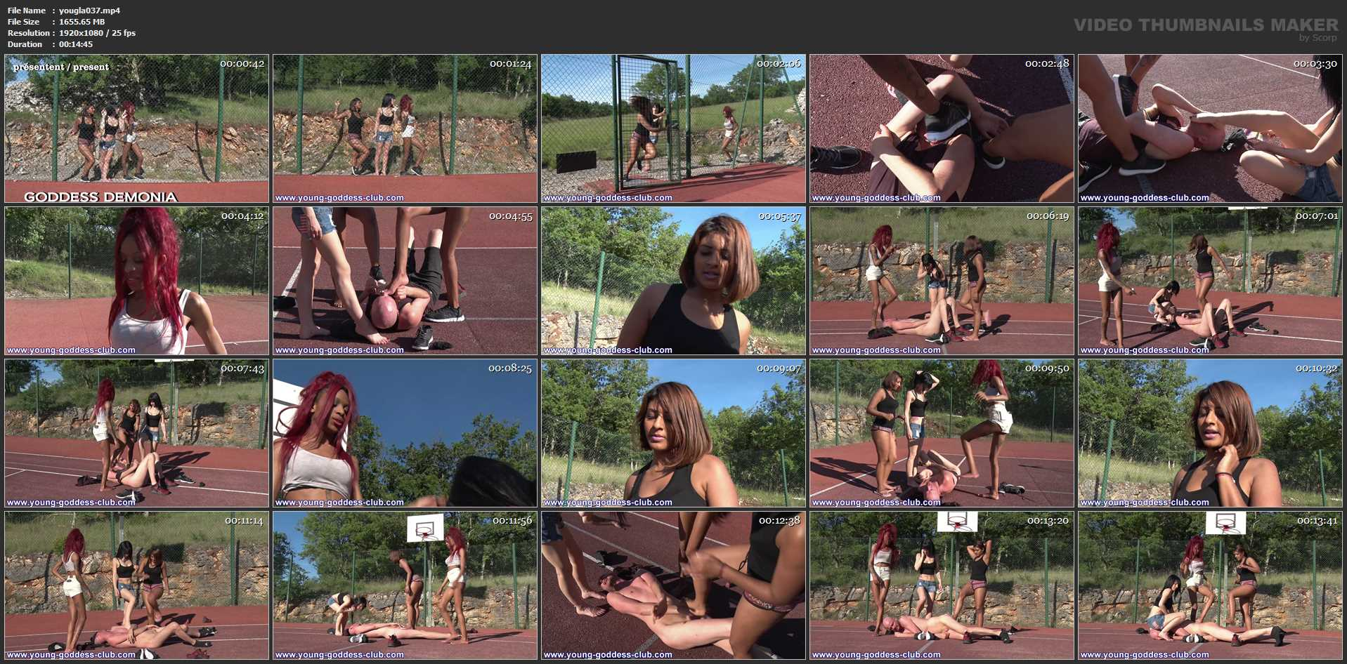 GODDESS DEMONIA, GODDESS ANAIS, GODDESS SEPHORA In Scene: YOU THINK YOU ARE JORDAN PART 1 - YOUNG GODDESS LAND - FULL HD/1080p/MP4