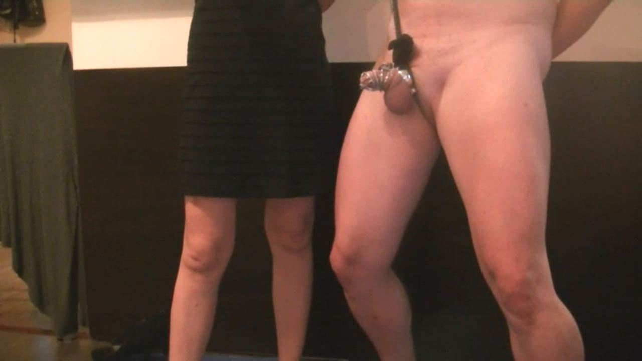 Goddess Margo In Scene: ice, wax and chastity play - BIZARRE GODDESSES FROM ROMANIA - HD/720p/MP4