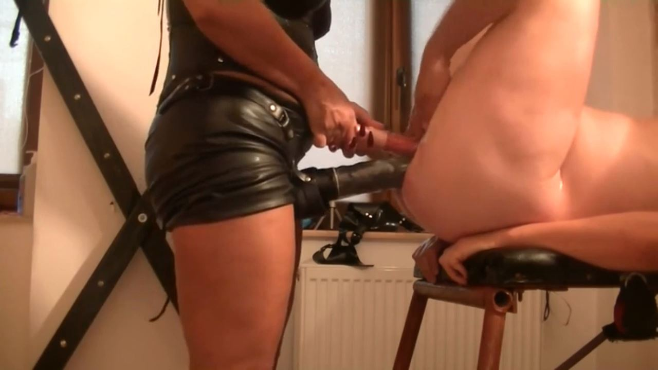 Goddess Andreea In Scene: humiliating 2 slaves with huge toys part 2 - BIZARRE GODDESSES FROM ROMANIA - HD/720p/MP4