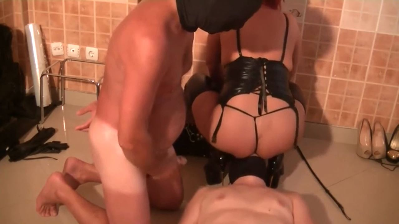 Goddess Andreea and 2 toilets slaves in her dungeon - BIZARRE GODDESSES FROM ROMANIA - HD/720p/MP4