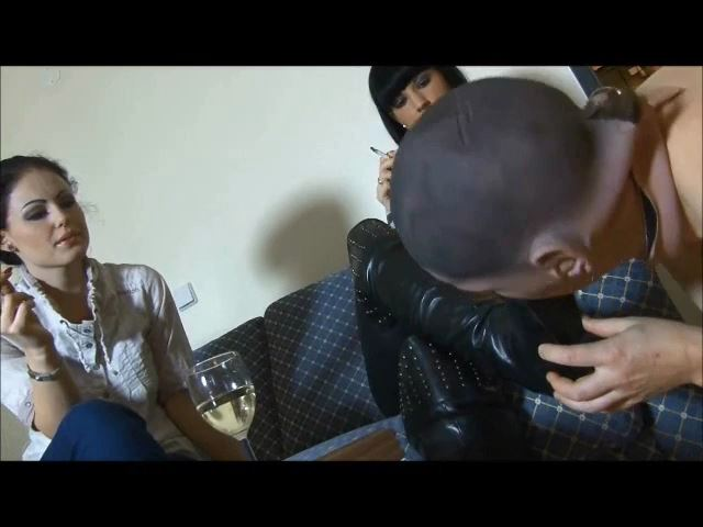 Mistress Blackdiamoond In Scene: Slaves Humiliation With Lady Chanel - BLACKDIAMOOND - SD/480p/MP4
