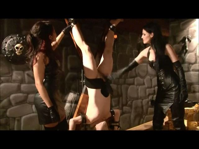 Mistress Blackdiamoond In Scene: Cbt Am Drehandrea Cross - BLACKDIAMOOND - SD/480p/MP4