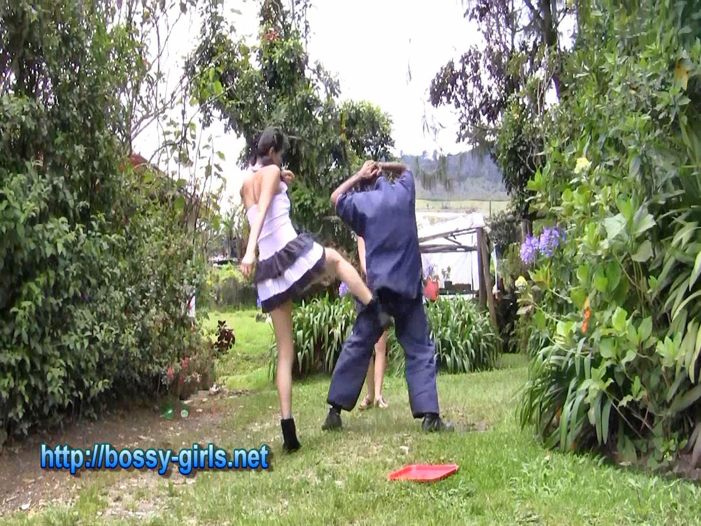 Mistress Kasr, Mistress Leila In Scene: AT THEIR SERVICE 04 Kick Box Training - BOSSY GIRLS - FULL HD/1080p/WMV