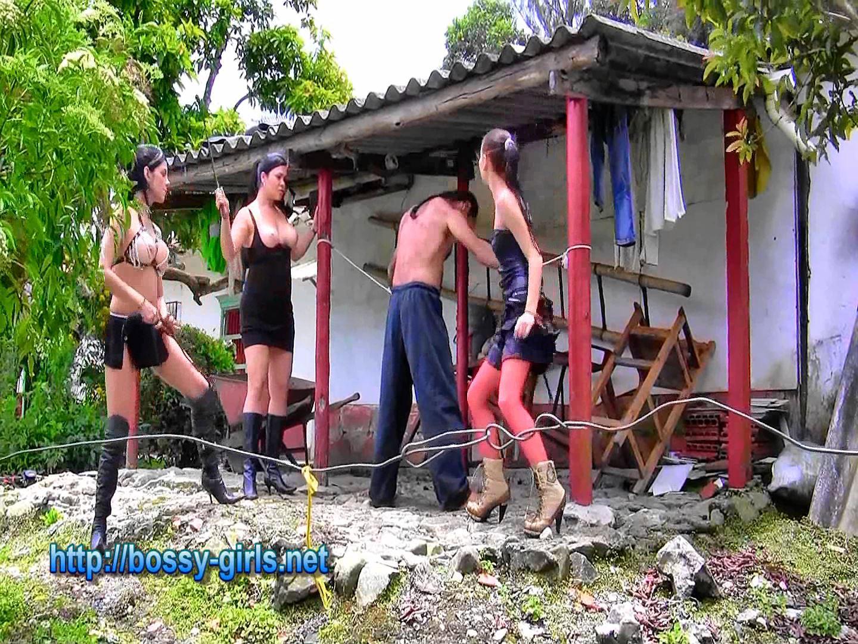 Mistress Kasr, Mistress Iskra In Scene: ROCK ME 06 Bash for 3 Sadistic Girls - BOSSY GIRLS - FULL HD/1080p/WMV