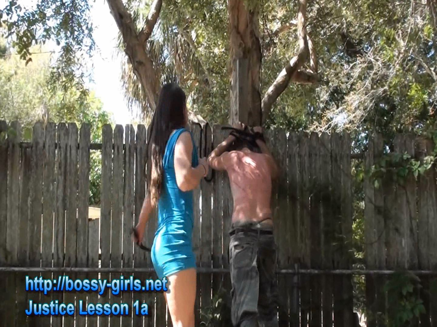 Mistress Cindy, Mistress Carly In Scene: JUSTICE LESSON 2 - BOSSY GIRLS - FULL HD/1080p/WMV