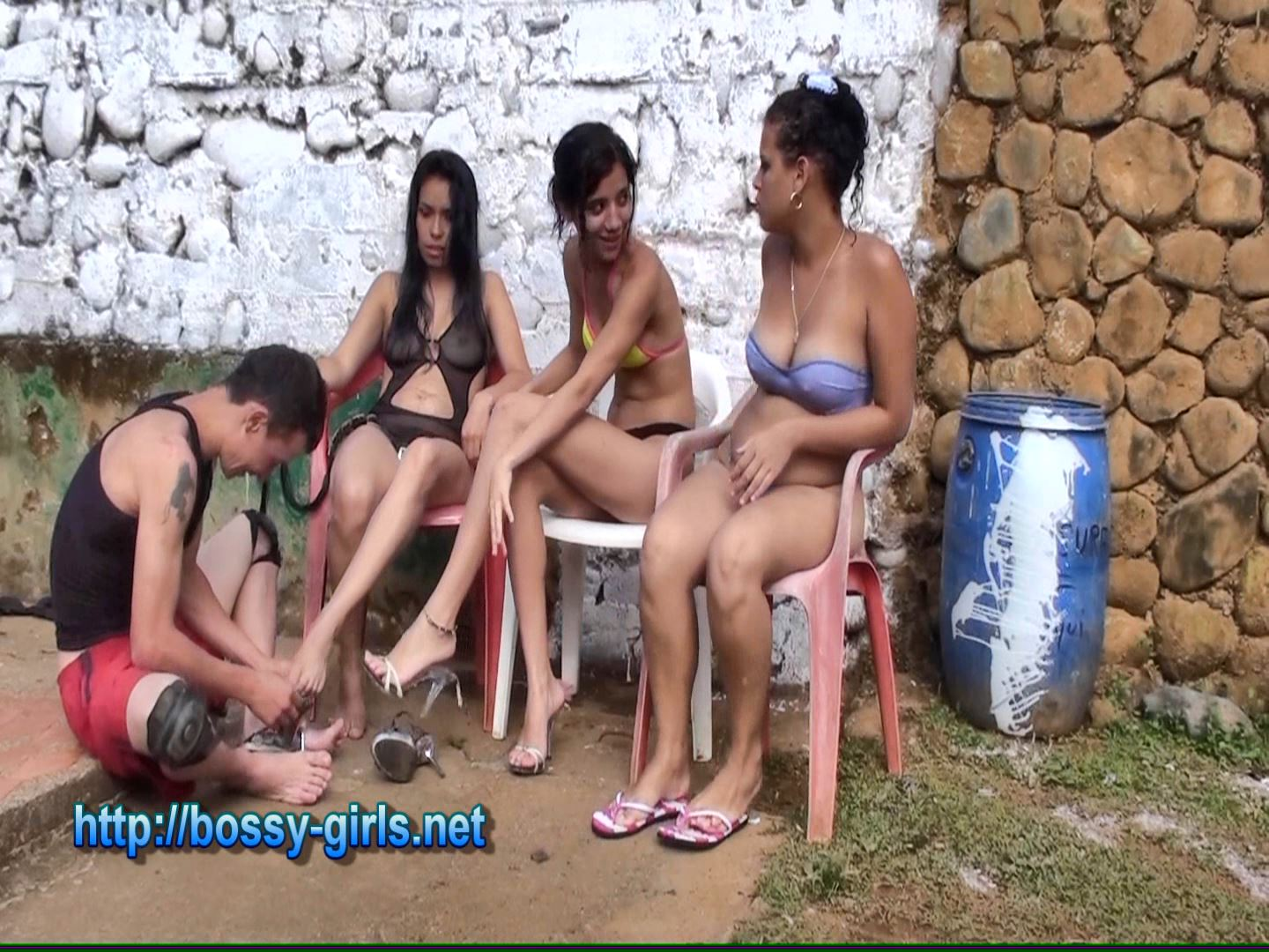 Mistress Isabel, Jane Guerrero, Mistress Angie In Scene: DAY OF THE BRASSY PUNKS 07 Honoring the Precious Girls - BOSSY GIRLS - FULL HD/1080p/WMV