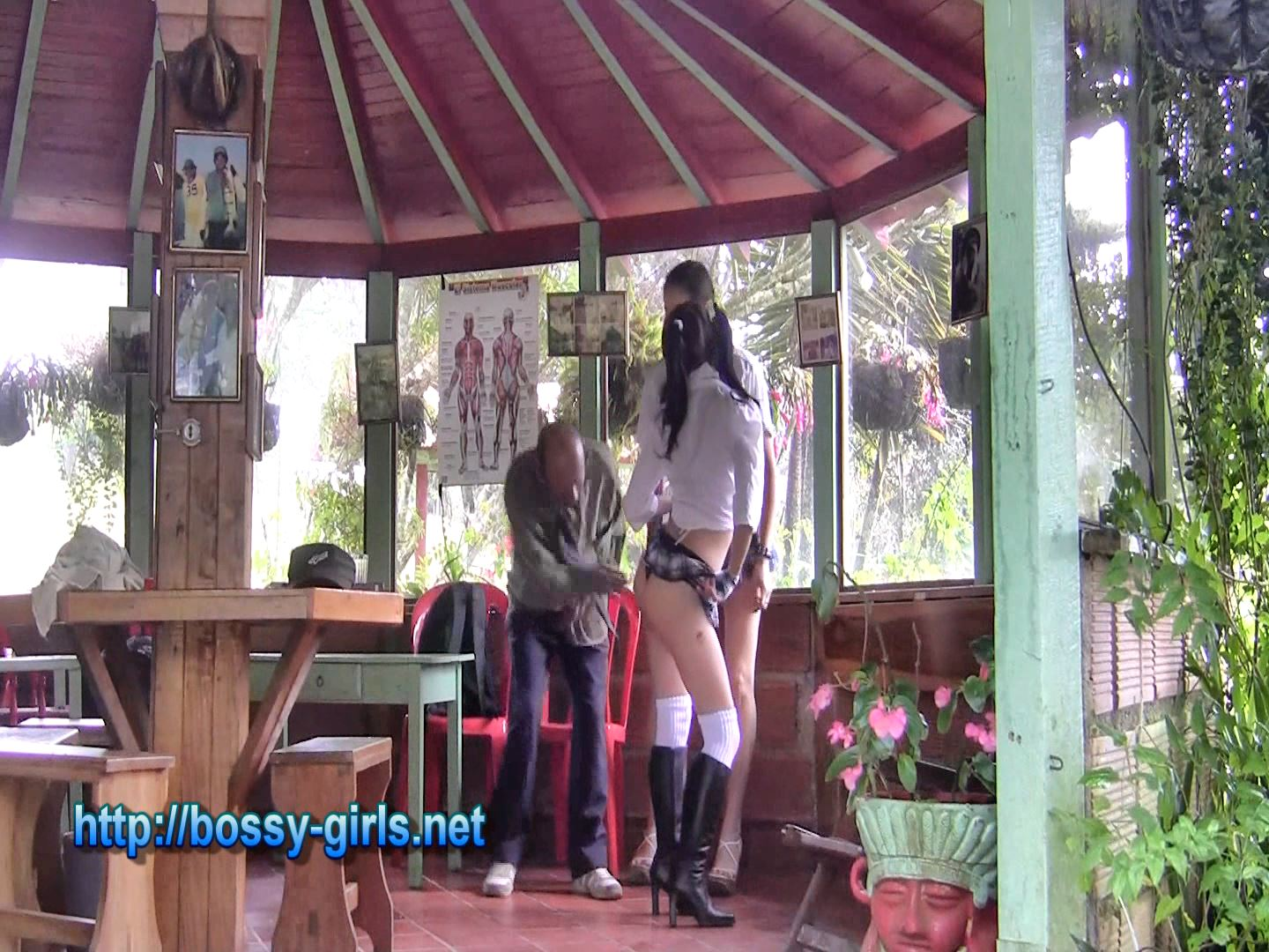 MS. KASR, MS. Leila In Scene: EXTROVERT STUDENTS 01 Introduction - BOSSY GIRLS - FULL HD/1080p/WMV