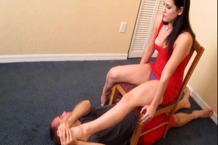 Miss Addie Juniper In Scene: Evil Addie Juniper Foot Tease - CRUDELIS AMATOR BALLBUSTING FETISH - SD/480p/MP4