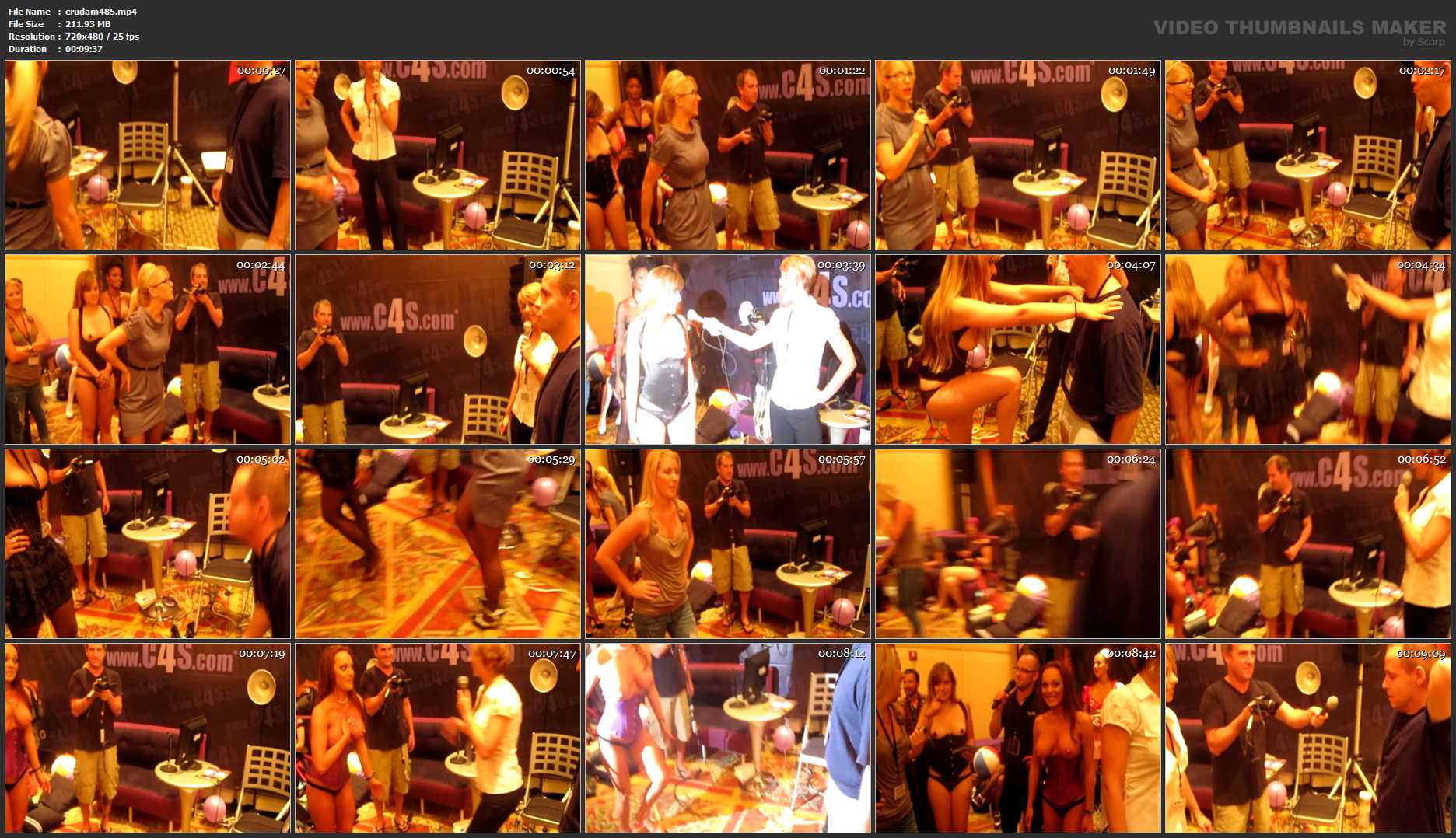 FetishCon 2010 Ballbusting Demonstration - CRUDELIS AMATOR BALLBUSTING FETISH - SD/480p/MP4