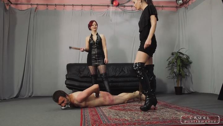 Mistress Maggie In Scene: BRUTAL SCENE PART 1 - CRUEL PUNISHMENTS - SEVERE FEMDOM - SD/406p/MP4