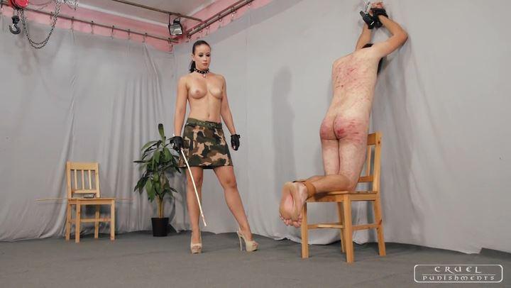 Mistress Anette In Scene: MERCILESS ANETTE PART 3 - CRUEL PUNISHMENTS - SEVERE FEMDOM - SD/406p/MP4