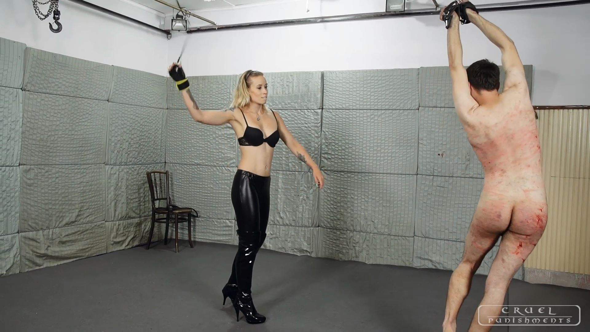Mistress Anette In Scene: Brutal torment Part 2 - CRUEL PUNISHMENTS - SEVERE FEMDOM - FULL HD/1080p/MP4