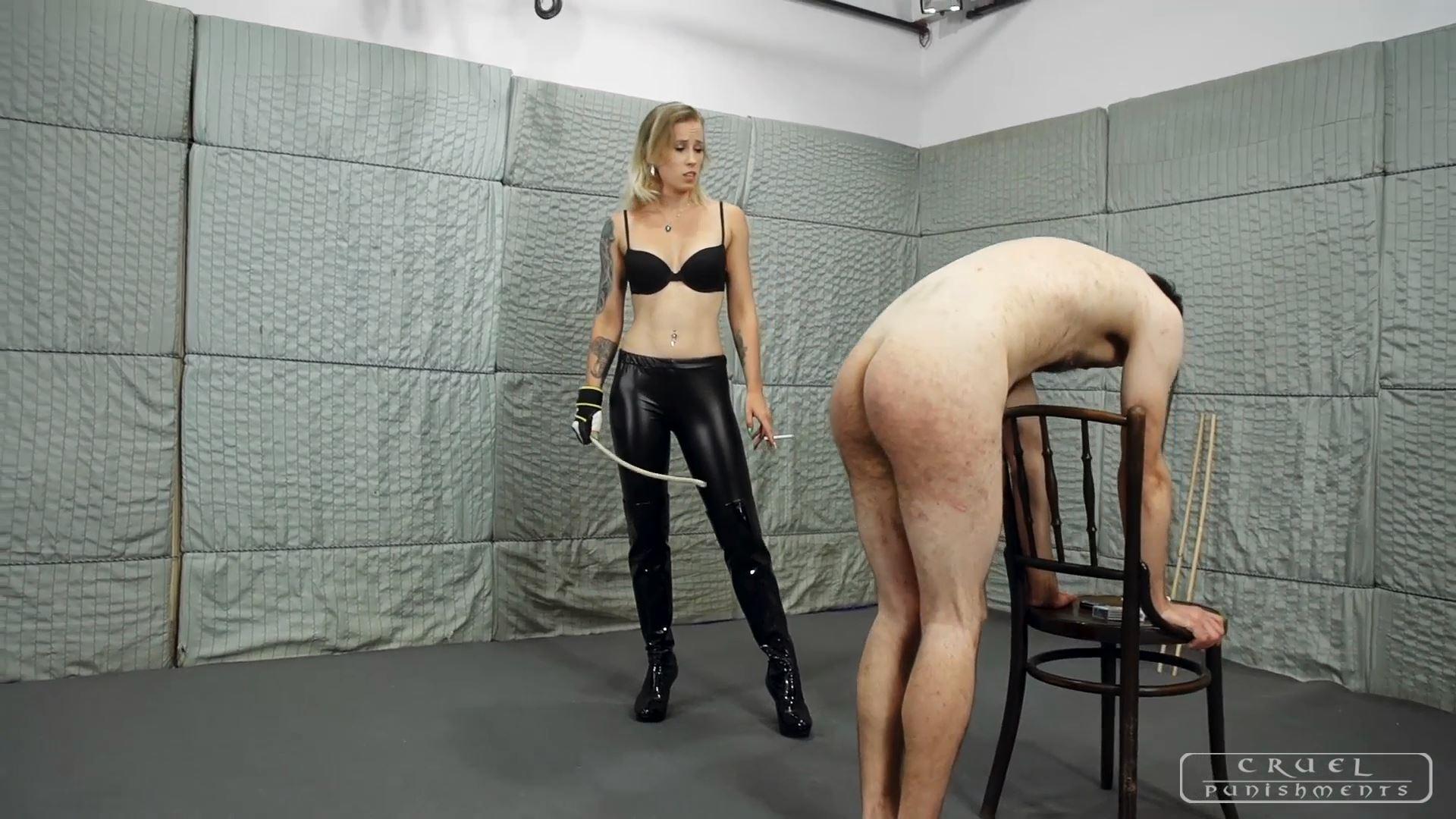 Mistress Anette In Scene: Brutal torment Part 1 - CRUEL PUNISHMENTS - SEVERE FEMDOM - FULL HD/1080p/MP4