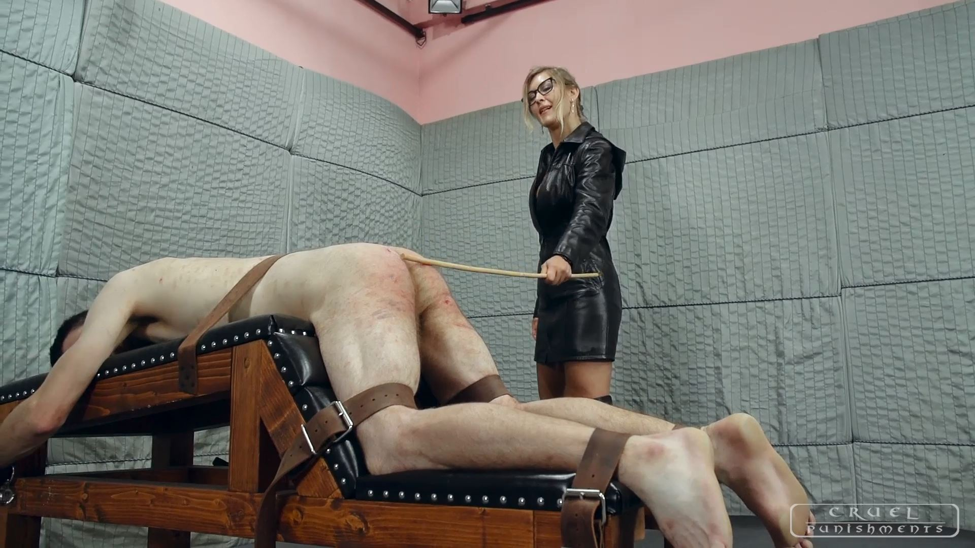 Mistress Bloodymary In Scene: Cruel Mistress Bloodymary Part 3 - CRUEL PUNISHMENTS - SEVERE FEMDOM - FULL HD/1080p/MP4