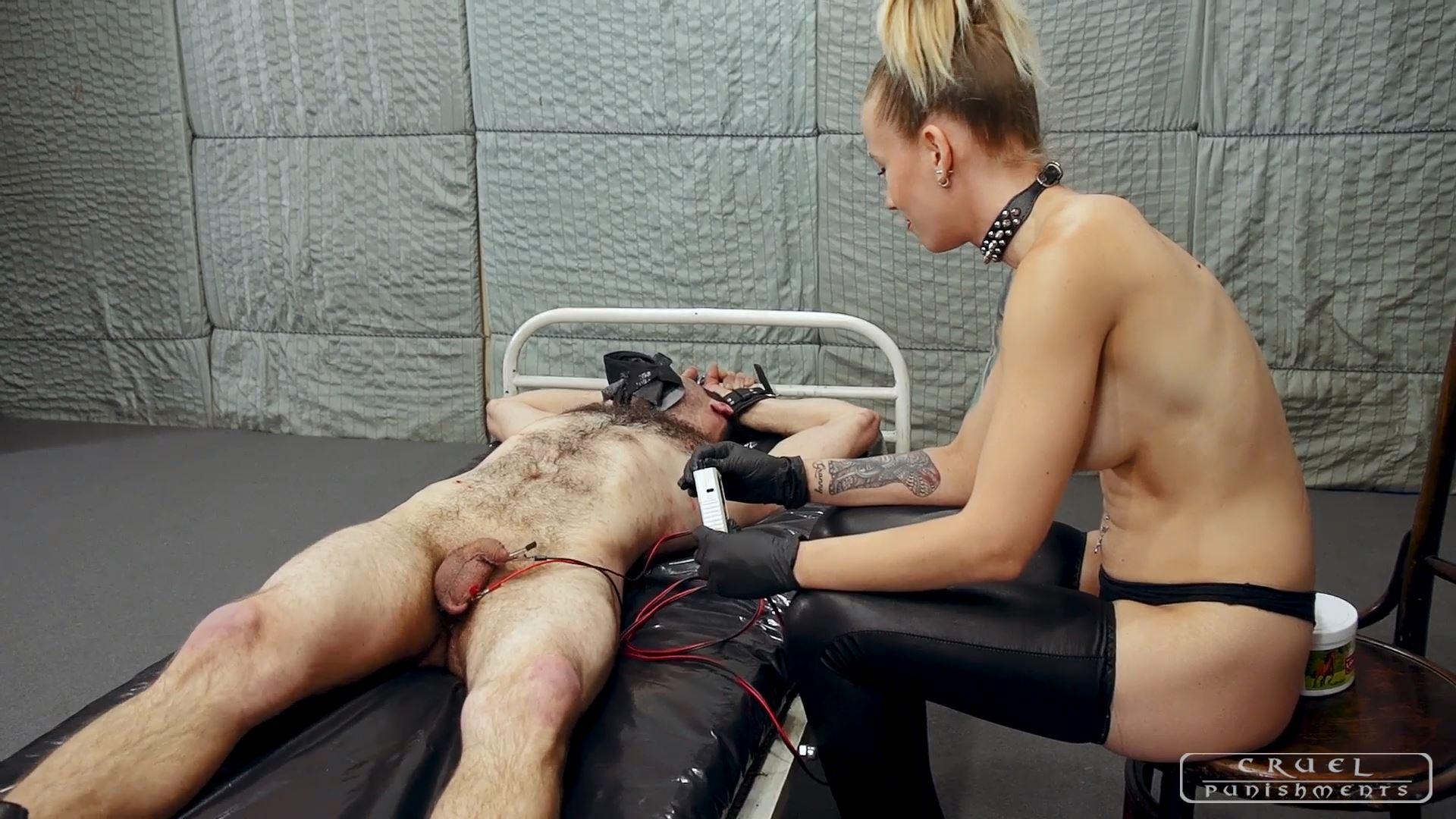 Mistress Anette In Scene: Cruel Anette's fun Part 3 - CRUEL PUNISHMENTS - SEVERE FEMDOM - FULL HD/1080p/MP4