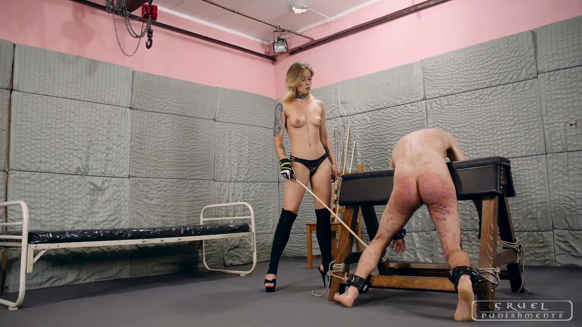 Mistress Anette In Scene: Anette is more brutal than ever Part 1 - CRUEL PUNISHMENTS - SEVERE FEMDOM - FULL HD/1080p/MP4