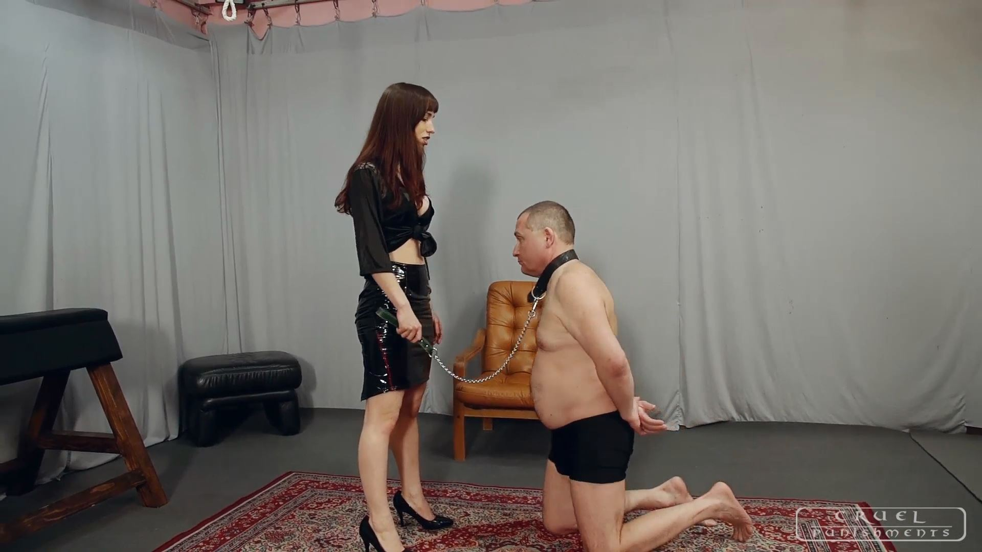 Mistress Nina In Scene: Liar II - CRUEL PUNISHMENTS - SEVERE FEMDOM - FULL HD/1080p/MP4