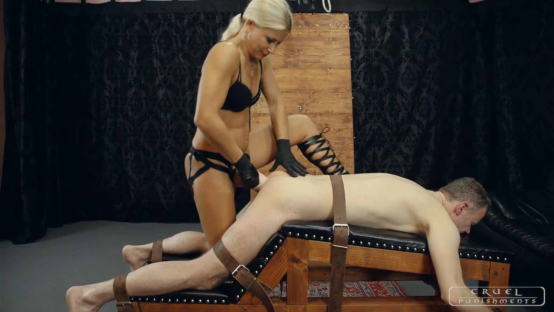 Mistress Zita In Scene: Nasty little bitch - CRUEL PUNISHMENTS - SEVERE FEMDOM - FULL HD/1080p/MP4