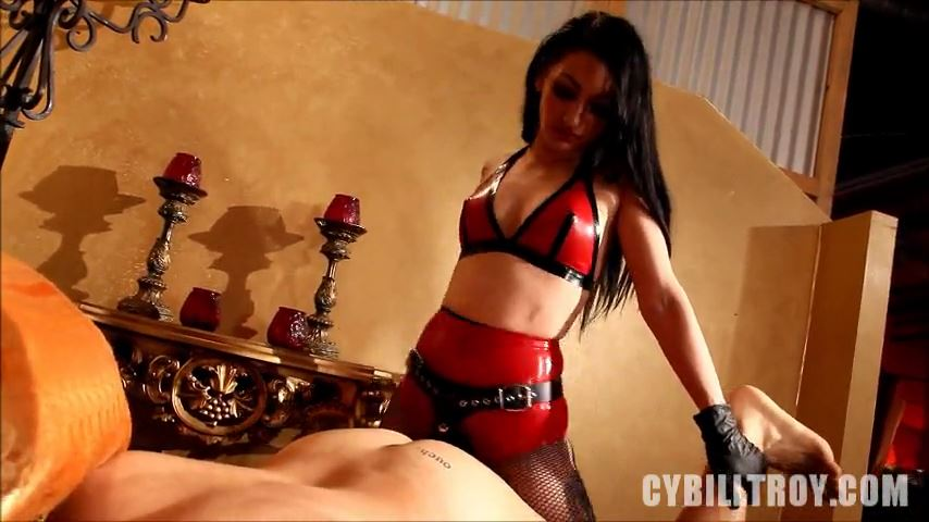 Mistress Cybill Troy In Scene: Mistress' Fuck Toy - CYBILL TROY'S DTLA DOMINAS / CYBILLTROY - SD/480p/MP4