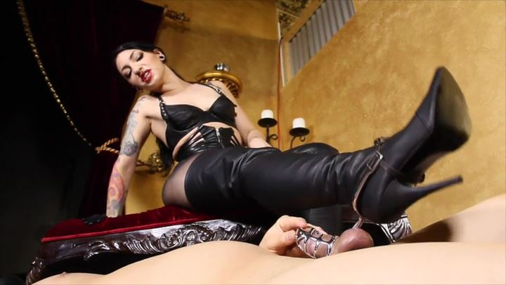 Mistress Cybill Troy In Scene: Spurs to the Balls - CYBILL TROY'S DTLA DOMINAS / CYBILLTROY - SD/406p/MP4