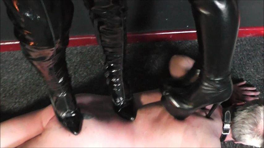 UK Mistress Elise In Scene: The Doormat Bitch - ELISE BULLIES BALLS UK - SD/480p/MP4