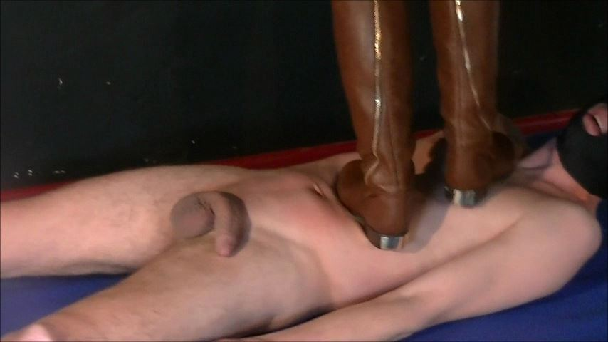 UK Mistress Elise In Scene: These Boots Were Made For Walking - ELISE BULLIES BALLS UK - SD/480p/MP4