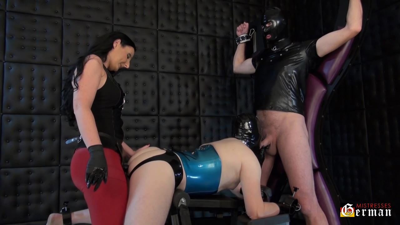 Lady Luciana In Scene: Suck the cock and take the strap-on - GERMANMISTRESSES - HD/720p/MP4