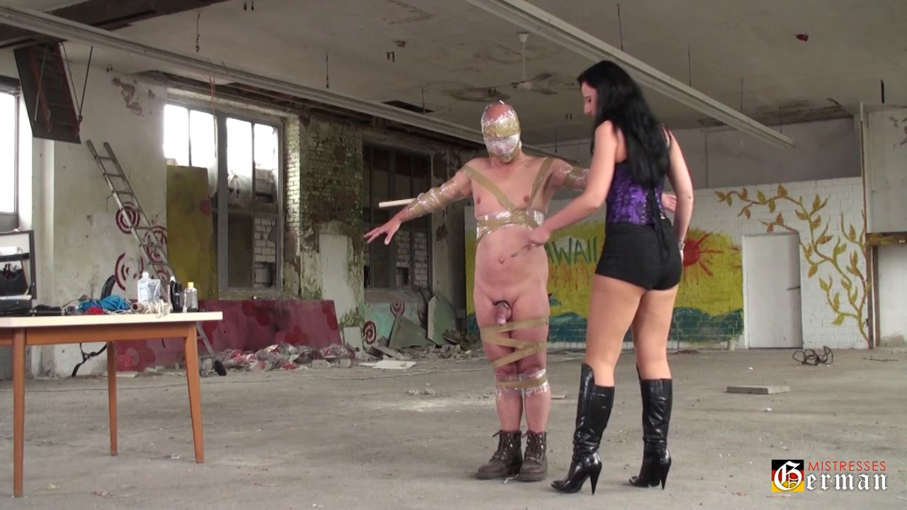 Lady Luciana In Scene: Punished in the abandoned house - GERMANMISTRESSES - HD/720p/MP4