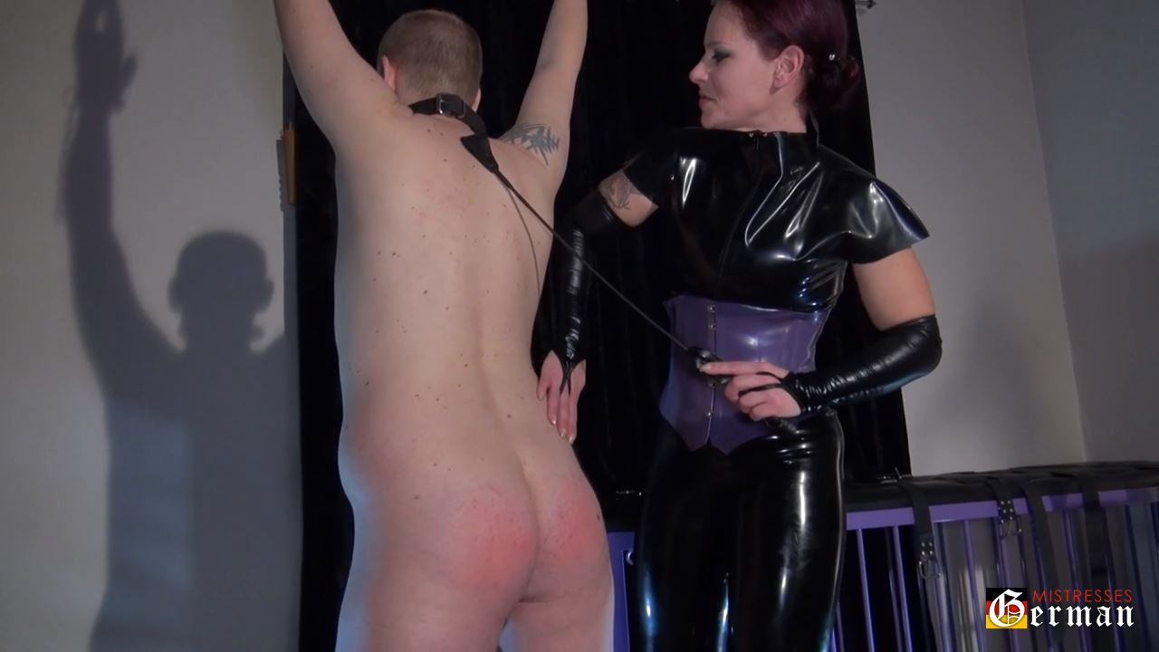 Domina Djinny In Scene: Punished by Domina - GERMANMISTRESSES - HD/720p/MP4