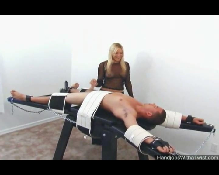 Handjob Before the Torture/ Whats the Password - HANDJOBSWITHATWIST - SD/576p/MP4