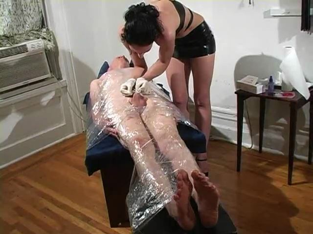 Wrapped-up Needlecushion: Cock Piercing - MISTRESS TRISH - SD/480p/MP4