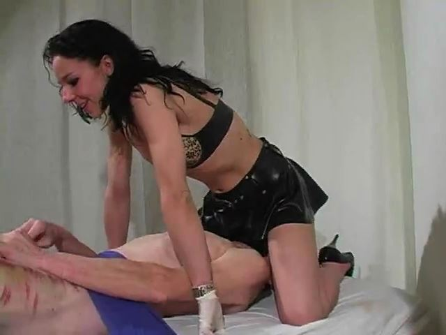 Cock Punishment III: Painful Masturbation - MISTRESS TRISH - SD/480p/MP4