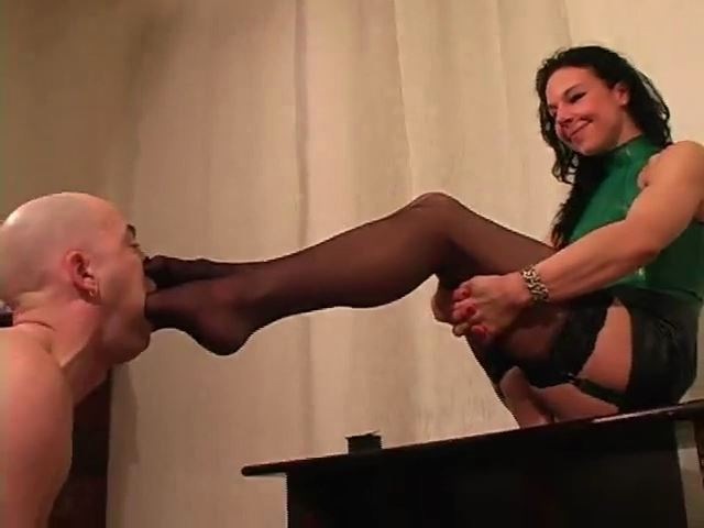 Breathtaking Feet I: Stockinged Feet Smothering and Gagging - MISTRESS TRISH - SD/480p/MP4