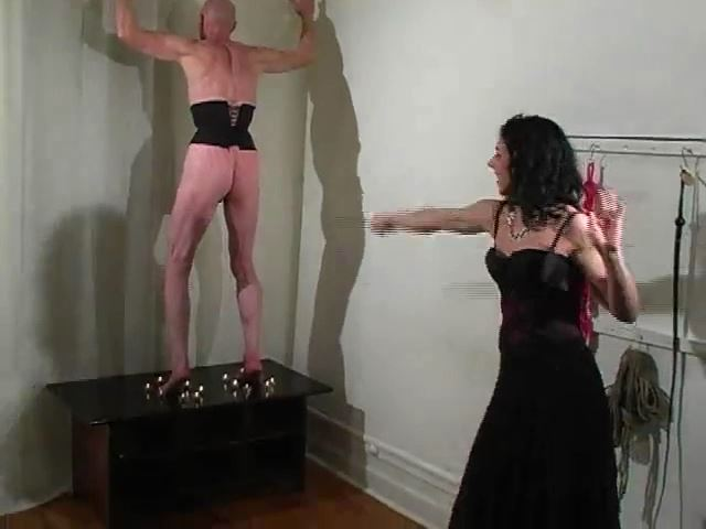 Roasted Soles I: Whipping Predicament - MISTRESS TRISH - SD/480p/MP4