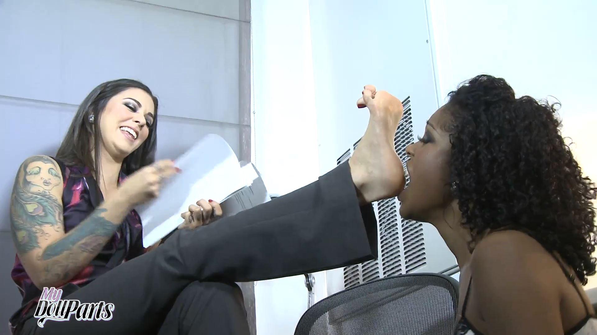 Kayla Jane, Lotus Lain In Scene: Office Exchange - MYDOLLPARTS - FULL HD/1080p/MP4