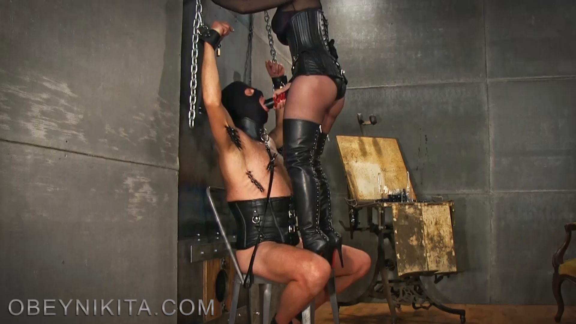 SUFFER TO SUCK MY COCK BITCH. FEATURING: MISTRESS NIKITA - OBEYNIKITA - FULL HD/1080p/MP4