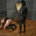 PUNISHED BY THE BALLS. FEATURING: MISTRESS NIKITA – OBEYNIKITA – FULL HD/1080p/MP4
