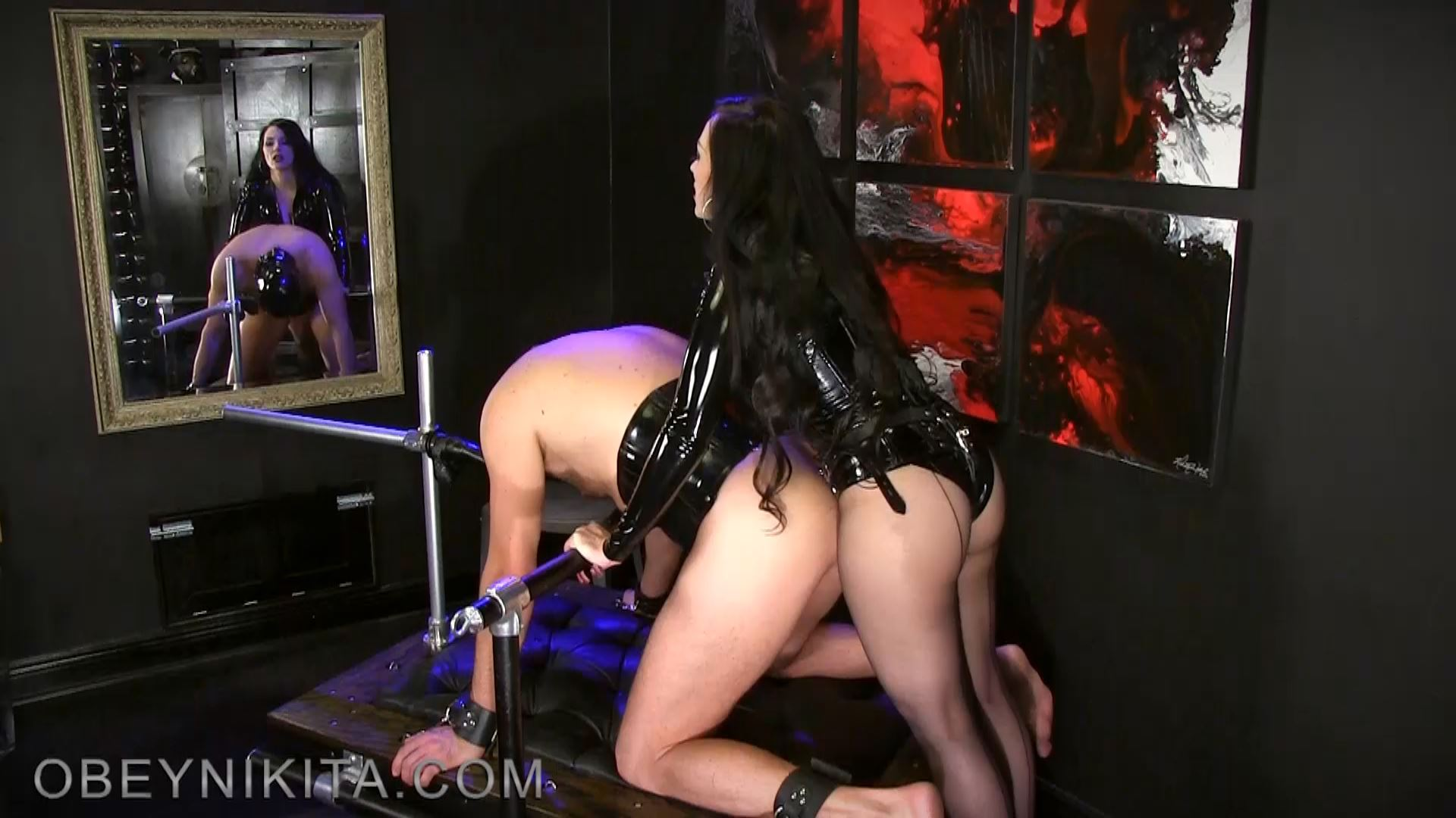 TWO HOLED WHORE. FEATURING: MISTRESS NIKITA - OBEYNIKITA - FULL HD/1080p/MP4