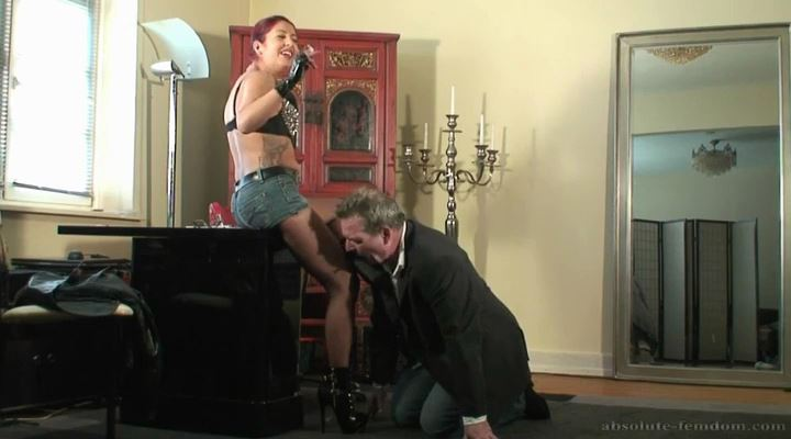 Blackmailed By Student - ABSOLUTE-FEMDOM - LQ/SD/400p/MP4