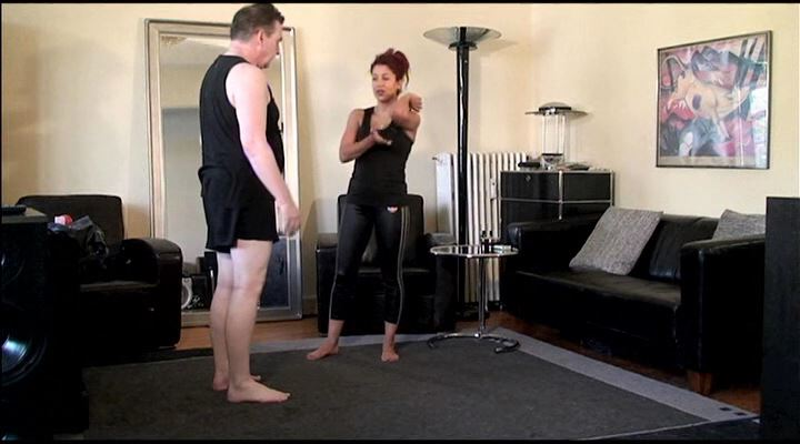Personal Fitness Coach - ABSOLUTE-FEMDOM - LQ/SD/400p/MP4