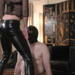 Leather Pants Tease and Face Slappingg – ABSOLUTE-FEMDOM – HD/720p/MP4